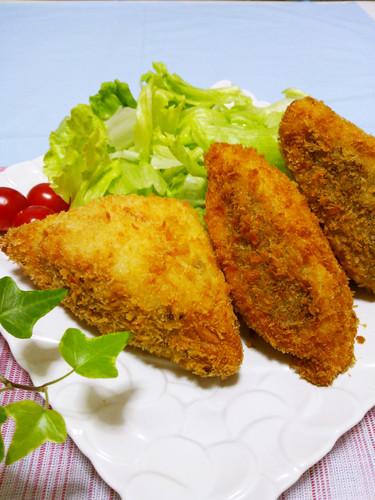Soft, Light, and Crispy! Stuffed Deep Fried Hanpen Fish Cakes