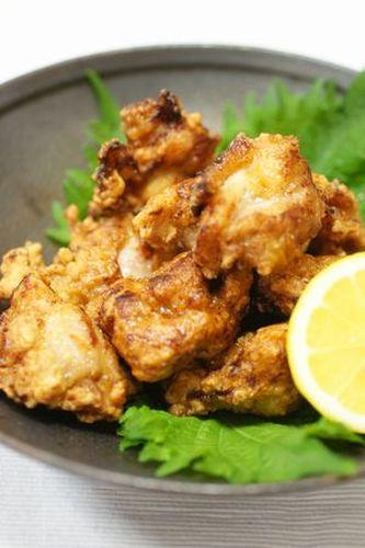 Chicken Karaage made with Shio-koji