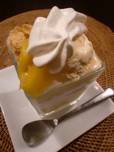 Juicy Mango Parfait