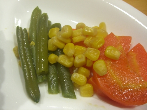 Colorful 10-Minute Vegetables Glacés in the Microwave