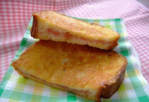 Sweet Joy! French Toast Jam Sandwich