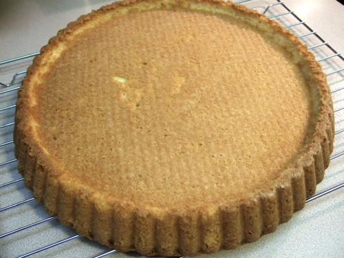 Sponge Cake Tart Base