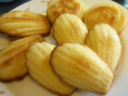 Moist Madeleines--Just Mix and Bake