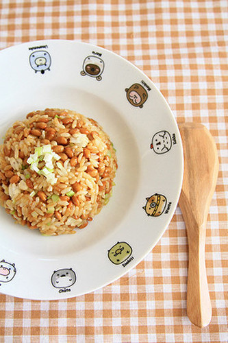 Easy 5 Minute Recipe! Fried Rice with Natto