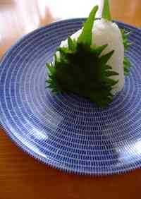 Steaming Miso Rice Balls Wrapped in Shiso Leaves