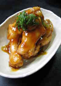 Teriyaki-Style Simmered Chicken Drummettes with Ume Plum Jam