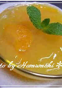 Orange Juice Agar Jello