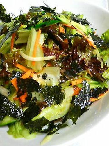 Irresistible Korean-Style Salad