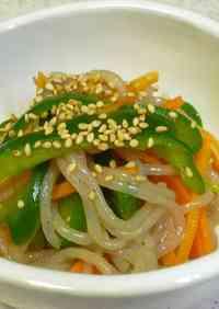 Shirataki Noodle Salad with Sesame Oil
