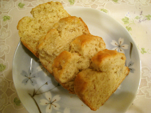 Easy and Fluffy Banana Cake Without Eggs