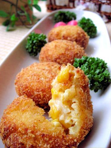 Corn Cream Croquettes