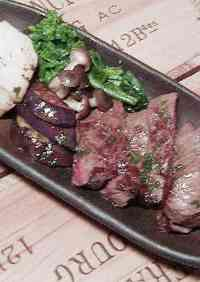 Japanese-style Beef Steak