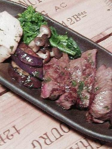 Japanese-style Beef Steak