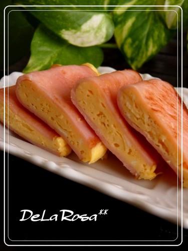 For Bento: Eggs Folded in Ham