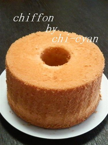 Melt-In-Your-Mouth Chiffon Cake
