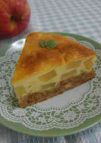 Cheesecake With Apples