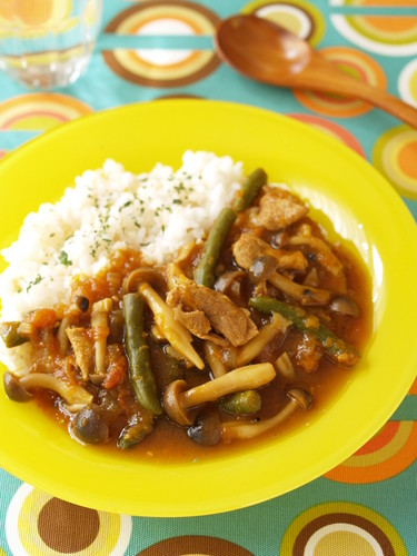 Yummy Mushroom Curry in 15 Minutes
