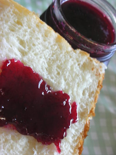 Blueberry Jam, Made in the Microwave
