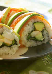 California Rolls (perfect for guests)