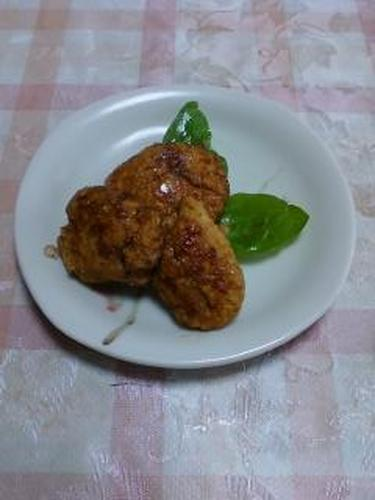 Chicken Tsukune Patties with Okara