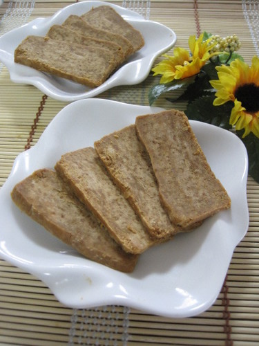 Chilled Kinako (Soy Flour) Paste Sliced Confectionary