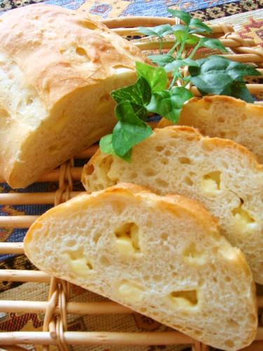Cheesy French Bread in a Bread Machine