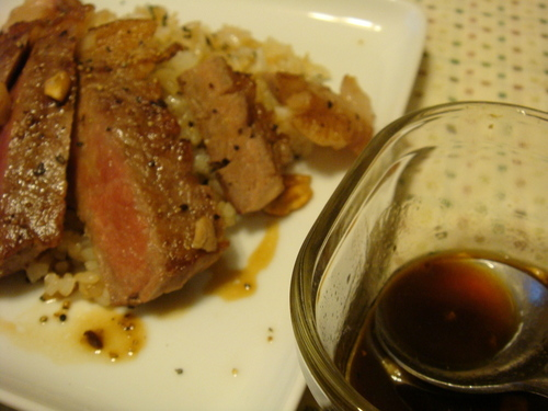 Japanese-style Garlic Steak Sauce