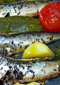 Italian Dish Made with Dried Whole Sardines