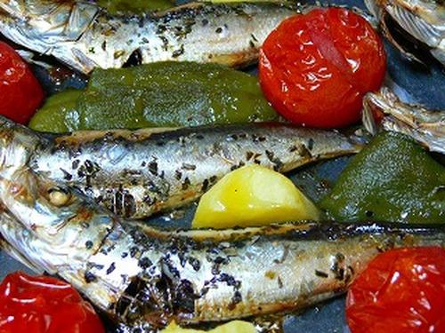 Italian Dish Made with Dried Whole Sardines