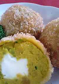 Kabocha Squash Croquette Balls Loved By Kids