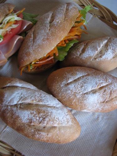 43% Whole Wheat Bread Rolls