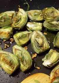 Garlic Sautéed Baby Artichokes