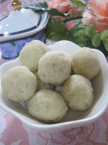 Sweet Potato Balls with Okara