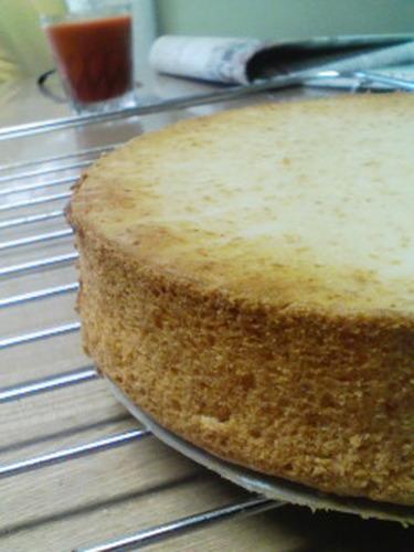 Easy! Delicious! Egg-Free Sponge Cake