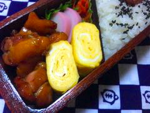 A Juicy Dashimaki Tamago Using One Egg