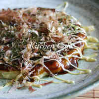 Okonomiyaki with Lots of Cabbage
