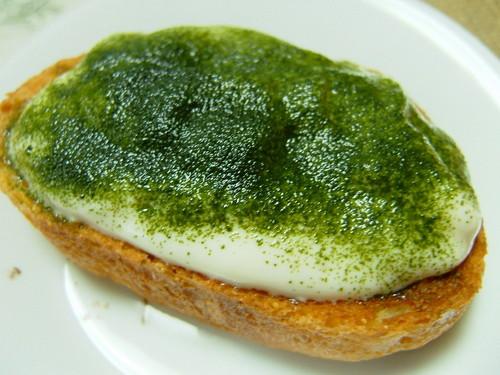 Matcha Tiramisu-style Toast