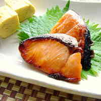 Lightly-Salted Salmon in Mirin Marinade