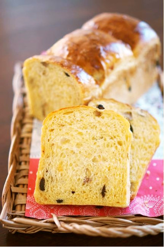 Carrot Bread with Raisins & Walnuts