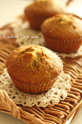 Yuzu Jam and Tea Muffins