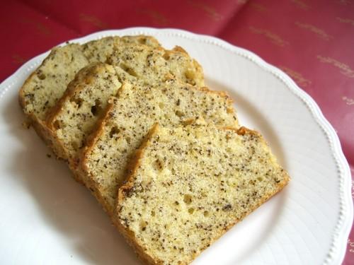 Savory Black Tea Pound Cake