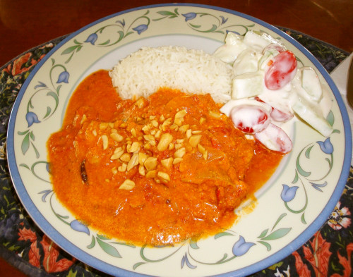 Indian-style Fish Curry With Tomatoes & Cream