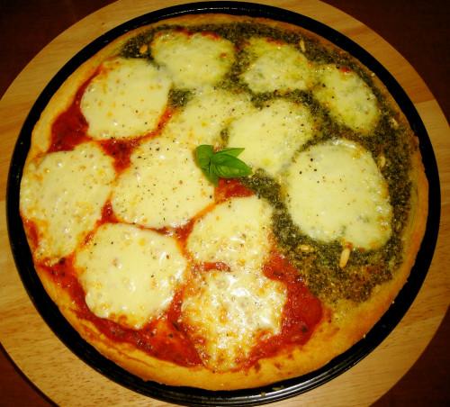 Genovese & Margherita Pizza