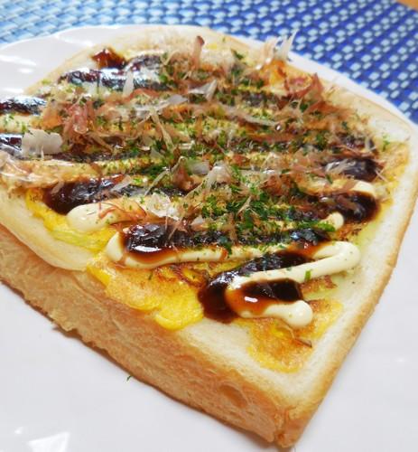 Okonomiyaki-style Toast