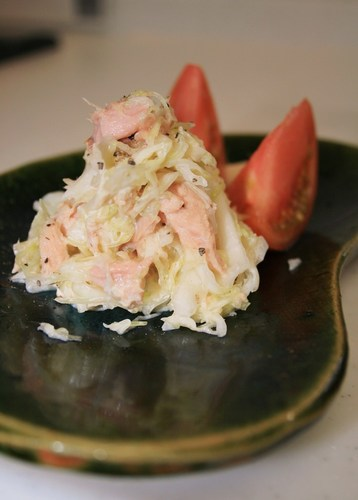 Easy 5 Minute Cabbage Salad