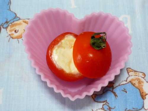 An Easy Bento Item: What's Inside The Cherry Tomatoes?!