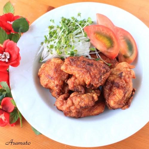 Crispy and Juicy Chicken Karaage for Bento