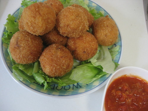 Let Your Rice Cooker Do the Work! Rice Croquettes
