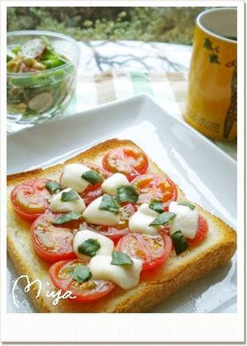 Margherita-style Toast