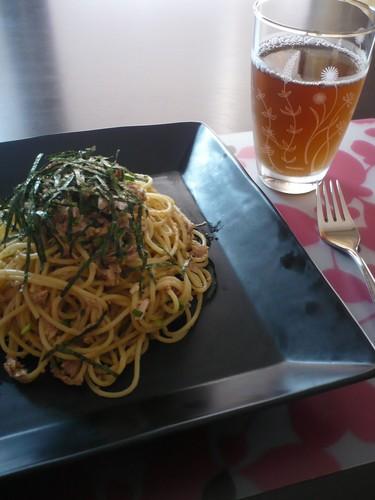 Addictive Tuna and Sesame Pasta